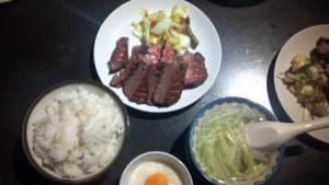 仙台の牛タン定食